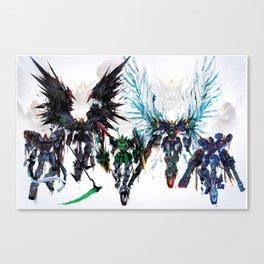 Gundams Canvas Print