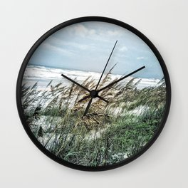 Florida Sand Dunes Wall Clock