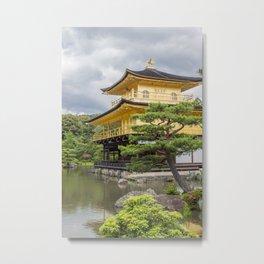 Japan Golden Pagoda Metal Print