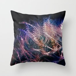 sound of darkness Throw Pillow