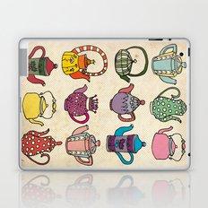 Teapots Laptop & iPad Skin