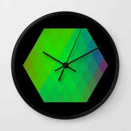 Hexagon? Wall Clock