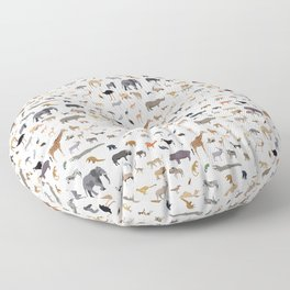 African animal pattern Floor Pillow
