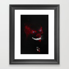 The Red Devil Framed Art Print