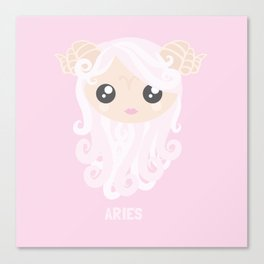 Aries Canvas Print