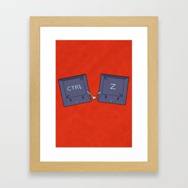 The do-over Framed Art Print