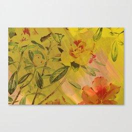 hi-def hibiscus Canvas Print