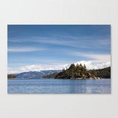 Fannette Island, Lake Tahoe, California Canvas Print