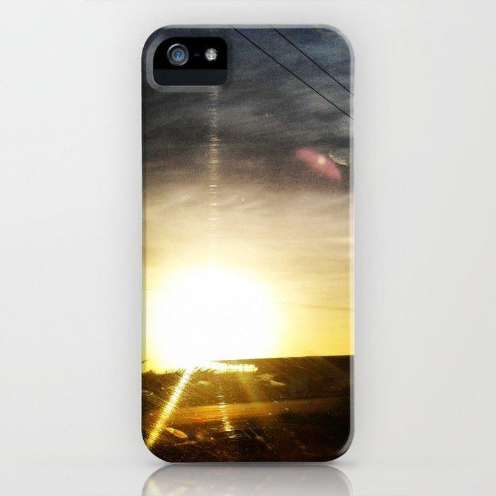 Atardecer iPhone Case