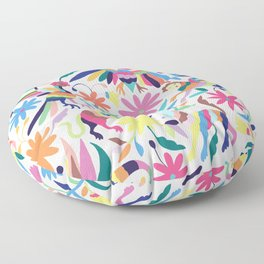 Creatures Otomi Floor Pillow