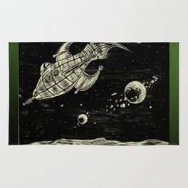 And Rockets! Rug