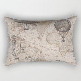Gears of Flight Rectangular Pillow