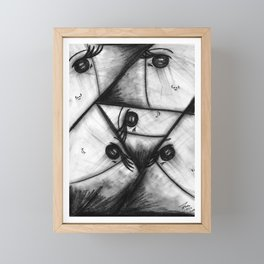 Different points of view Framed Mini Art Print