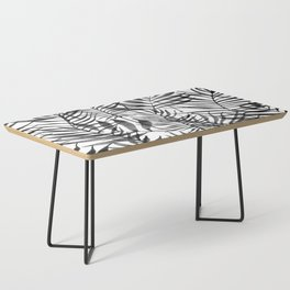 Black Tropics Coffee Table
