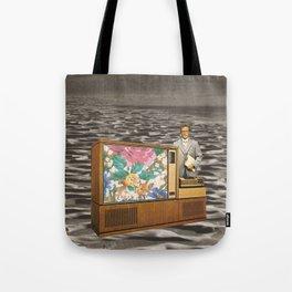 TV Man Tote Bag