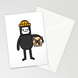 LILINTROVERT and Pudgy Stationery Cards