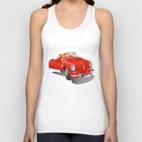 porsche Tank Tops featuring Porsche by Paola Canti