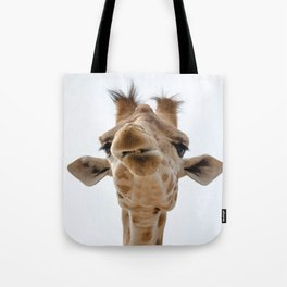 Love me - love my giraffe Tote Bag
