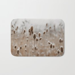 The Wintry Meadow Bath Mat
