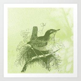 Bringer of spring Art Print