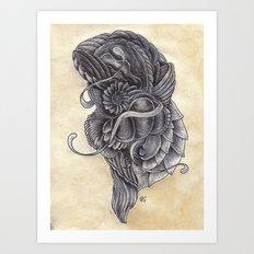 Lifeform 2S9-378 Art Print