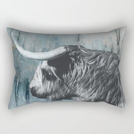 Highland Bull Rectangular Pillow