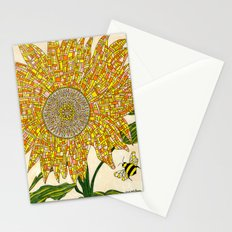 Georgia Sunflower Stationery Cards