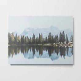 Italian Dolomites (landscape version) Metal Print
