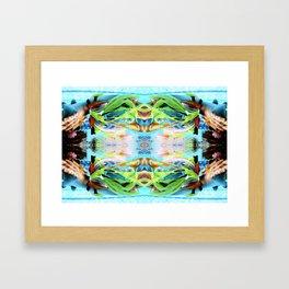 UNDERWATER MERMAID MAGIC Framed Art Print