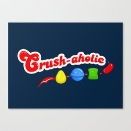 Crush-aholic Canvas Print