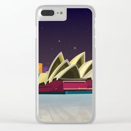 City Sydney Clear iPhone Case