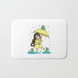 Best Frog Girl Bath Mat