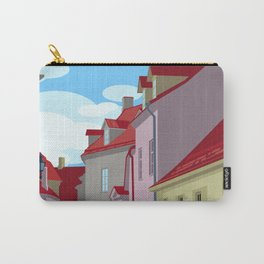 Tiled roofs Carry-All Pouch