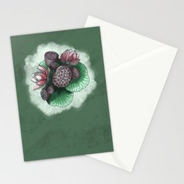 Lotus Flower and Seed Stationery Cards