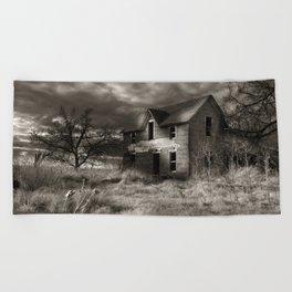 Dead House of Garber Beach Towel