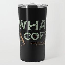 Cowhand Coffee - Vintage Mint & Mauve Travel Mug