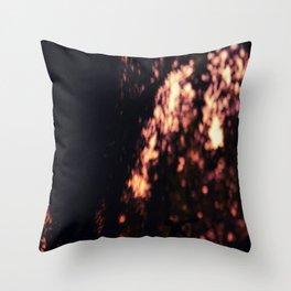 PURPLE SHADOWS Throw Pillow