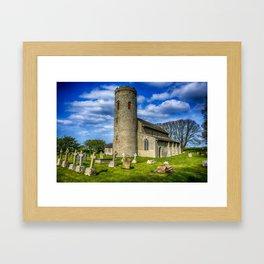 St Margarets Church  Norfolk Framed Art Print