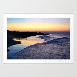 Beach V Art Print