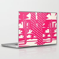 dessert Laptop & iPad Skins featuring Red Dessert by Yetiland
