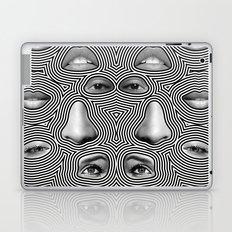 Silver Abuse Laptop & iPad Skin