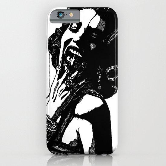 B&W Fashion Illustration - Part 2 iPhone & iPod Case