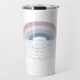 broken rainbow Travel Mug