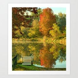 Autumn Temptations Art Print