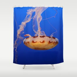Medusa Jelly Shower Curtain