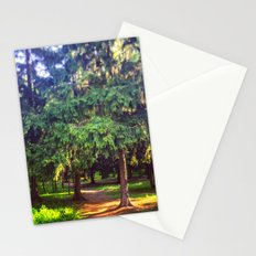 Morning walk Stationery Cards