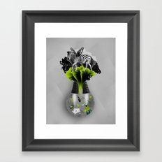There's ecology in every drop Framed Art Print