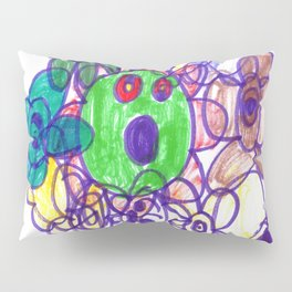 Baby Gears Toy Pillow Sham