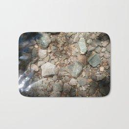 A Stream's Bedrock (Lake Tahoe, California) Bath Mat