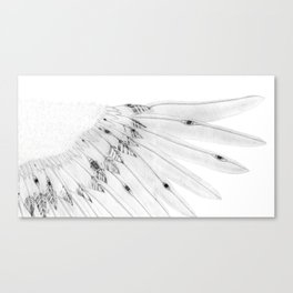 Angel Wing or Living Creature Wing Canvas Print